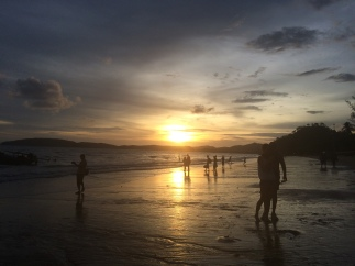 Another great sunset at Ao Nang Beach