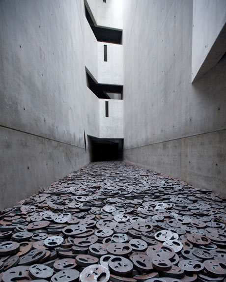 The Memory Void room of the Jewish Museum